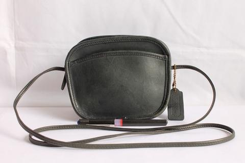 TAS BRANDED COACH C142 SLING MADE IN USA SECOND ORIGINAL FULL LEATHER 26e10a1a64