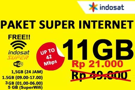 [HOT] INJECT/PULSA TEMBAK INTERNET INDOSAT 11GB ONLY 21K TERMURAH!!!!!