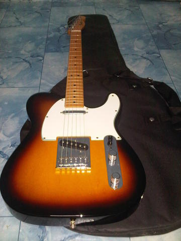 Fender Telecaster Mexico 2012 ( 3 colour sunburst ) Muluuuuuuus !!!