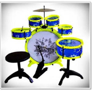 MAINAN ANAK BIG BAND DRUM SET