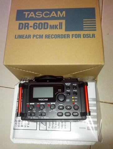 wts TASCAM DR60D mkII - Audio Recorder for DSLR new murmer