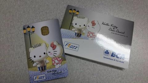 Flazz Card Special Hello Kitty Valentine edition