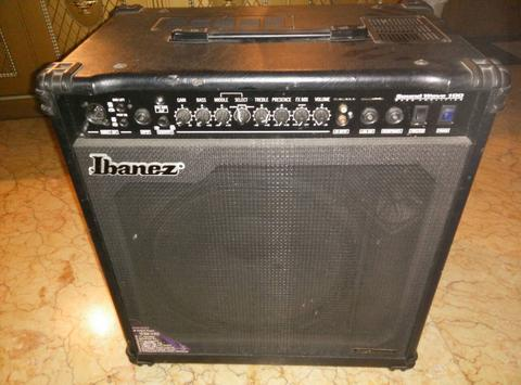 JUAL AMPLI BASS IBANEZ SOUND WAVE 100