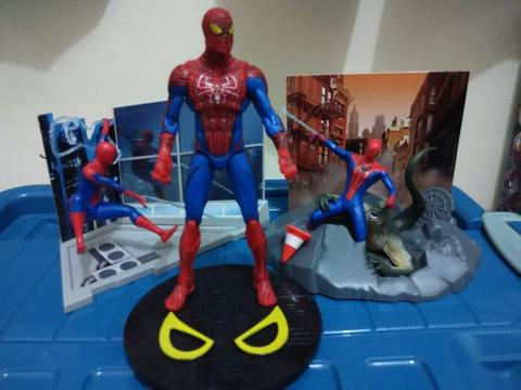Spiderman Diorama Paket