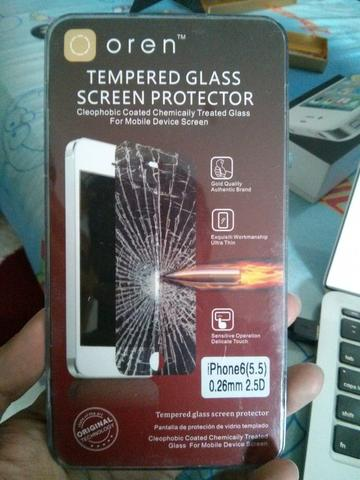 Spigen Neo Hybrid dan Tempered Glass Screen Protector iPhone 6+
