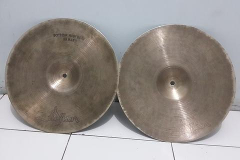 WTS cymbal Avedis hihat new beat dan medium crash murah