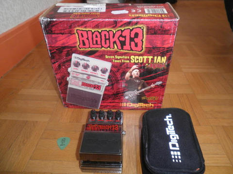 efek gitar/effect guitar Digitech Black13,scott ian signature series