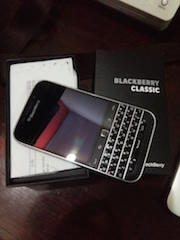 BLACKBERRY CLASSIC EDITION
