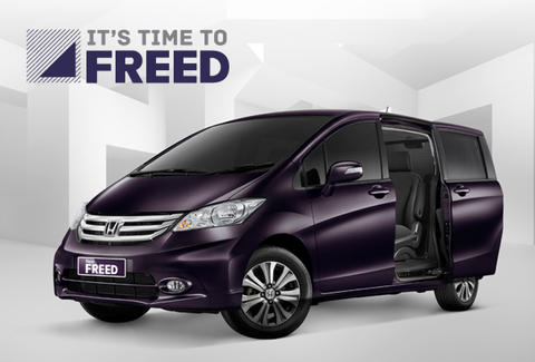 Honda Freed Ready Stock 2015