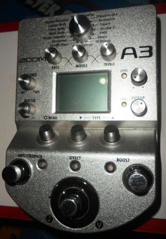 JUAL ZOOM A3 for acoustic guitar