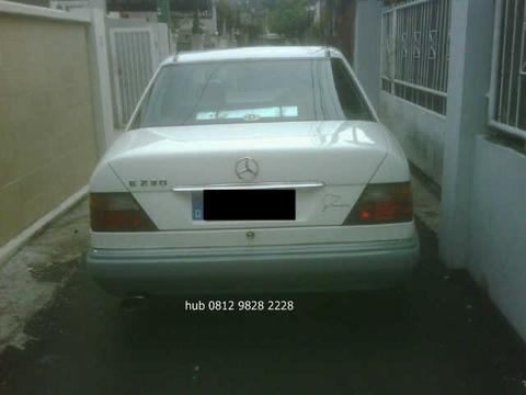 Mercedes Benz 230 E '91 Putih abu2 manual model MP
