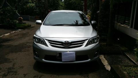 Grand New Corolla Altis Facelift 2010