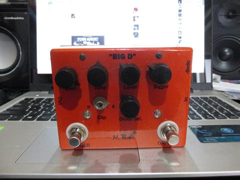 Homebrew Electronics HBE Big D Overdrive Distortion