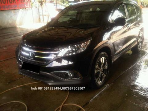Honda new crv 2.4 matic th 2014 hitam 35rb