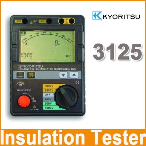 Kyoritsu 3125 High Voltage Insulation Tester