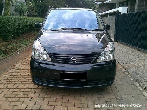 Nissan Serena CT AT Th 2008 Hitam Metalik GRESS!!