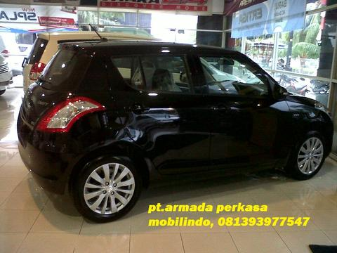 "SUZUKI SWIFT GX MT ""pearl super black"" nik 2014. diskon up to 13jt"