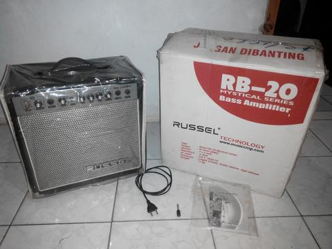 Ampli Kamar Russel RB-20 CD (Bass Amp)