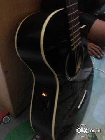 apx t2 guitar mungil ukuran 3/4 acoustic electric