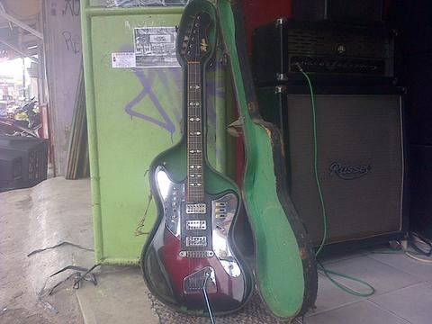 "GITAR HOFNER GALAXIE MODEL 177 ""EXQUISIT"" SOLID BODY"