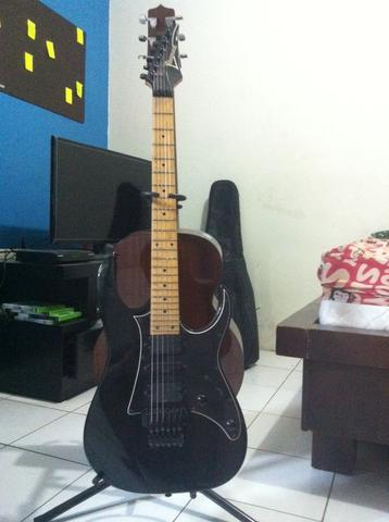 Ibanez RG 350 M BK SECOND MURAH