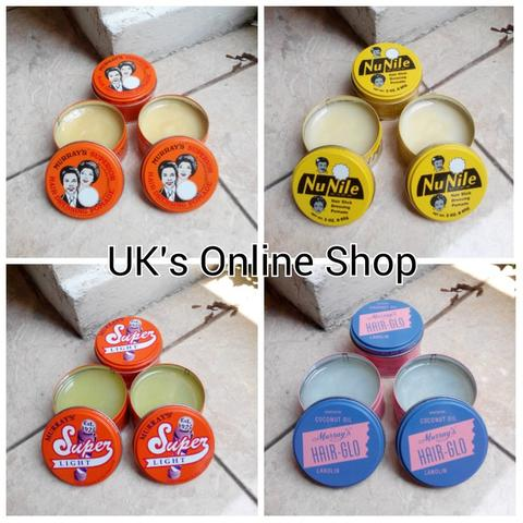 WANT TO SELL MURRAYS POMADE DAN SUAVECITO POMADE