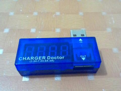 Usb Power Current Voltage Tester / Charger Doctor