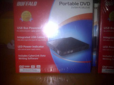 Dvd portable merk buffalo