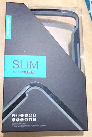 Original Nilkin slim border LG G3 - Black