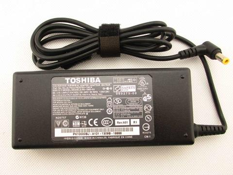 Adaptor Charger Toshiba 19V - 4,74A ori (include kabel power)