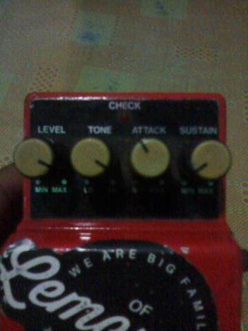 Efek Boss Compressor sustainer CS-3 Japan