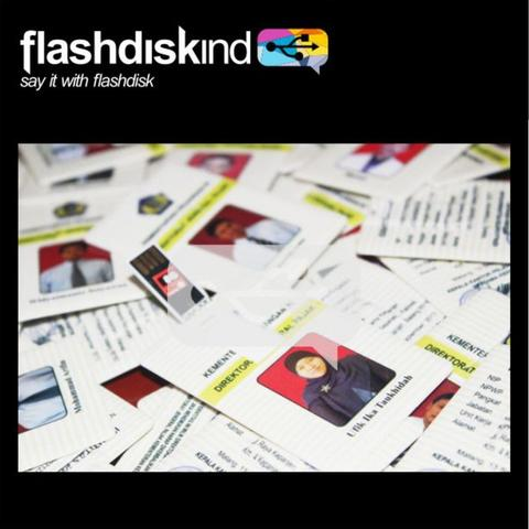 flashdisk kartu custom (FLASHDISKIND)