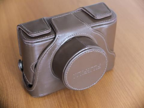 Leather case Fujifilm X10