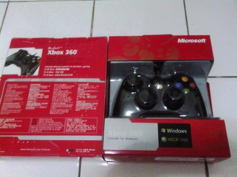 STIK XBOX WIRED ORI FOR PC (TERDETEKSI MICROSOFT XBOX CONTROLLER) MURAH!!!