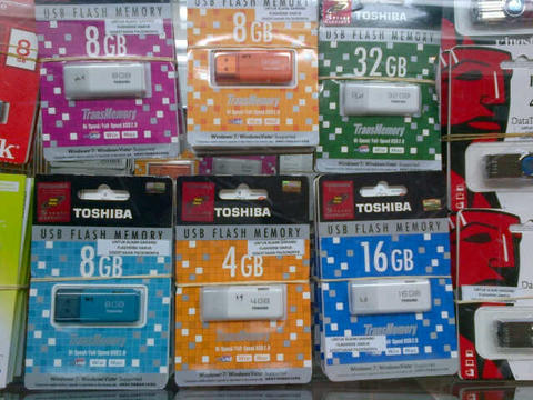 FlashDisk TOSHIBA All Capacity - 0852.3202.7200