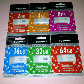 TOSHIBA USB Flash Drive 2-64GB Murah Abiss - 0852.3202.7200