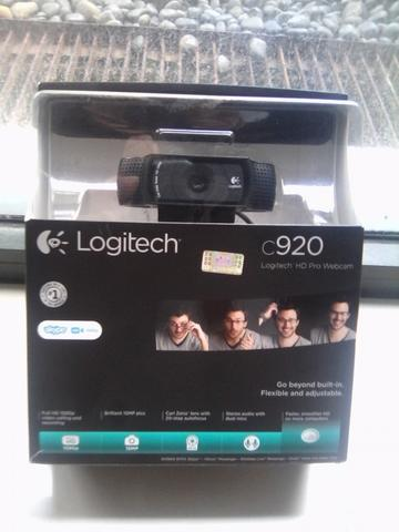 webcam logitech C920 Hd Pro 2nd like new