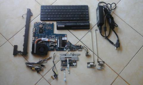 pretelan laptop hp g42 (batre, carger, keyboard dll)