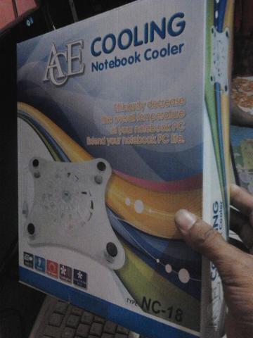 Cooling Pad atau Kipas Pendingin Laptop dan WebCam PC Camera 5 Mp M-Tech Depok
