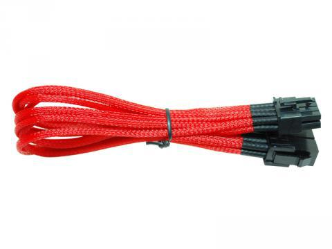 [CYBER] NZXT 8 Pin to 8 Pin Video Extension, 25cm CB88V (Red)