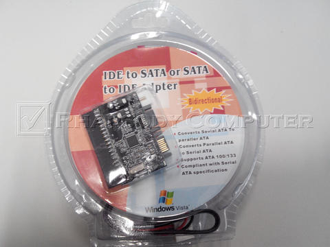 IDE to SATA/SATA to IDE Adapter