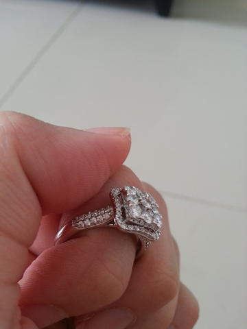 Terjual Cincin Berlian Frank And Co Murah