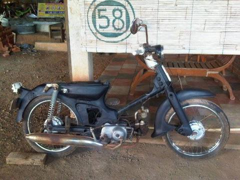 Jual Honda c70 th '72