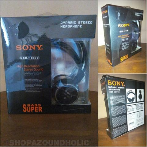 Headphone SONY Mdr-HD970 High-Res Stereo Dynamic Sound