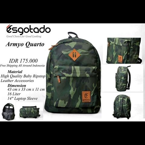 ----Official Store Of Esgotado Exclusive Bag Made in Indonesia----