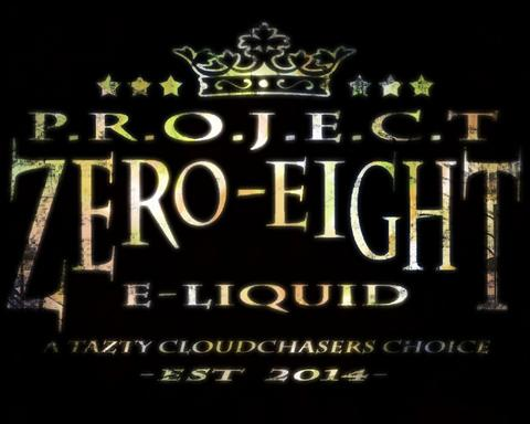 Project Zero Eight - Local Ejuice, VG/PG 80:20 For Cloud Chasers