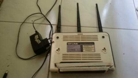 JUAL ROUTER TP LINK TL-WR941ND 350k NEGO TIPIS