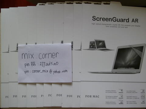 MURAH! MACBOOK : SCREENGUARD, KEYBOARD PROTECTOR, ANTIDUST, KABEL VGA/HDMI, PALMGUARD