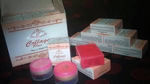 Paket Cream Collagen Plus Vit E Whitening + Sabun Original Harga Mruah