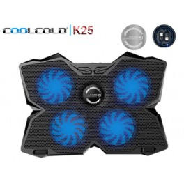 [NINETYNINE.TECH] Coolcold K25 - 2x USB 2.0 Port & 4x Fan